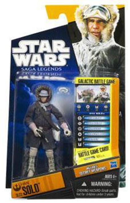 Star Wars The Empire Strikes Back Saga Legends 2010 Han Solo Action Figure SL22 [Hoth Gear]