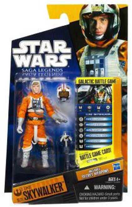 Star Wars The Empire Strikes Back Saga Legends 2010 Luke Skywalker Action Figure SL21 [Snow Speeder Gear]
