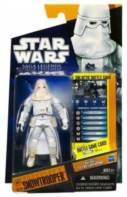 Star Wars The Empire Strikes Back Saga Legends 2010 Snowtrooper Action Figure SL23