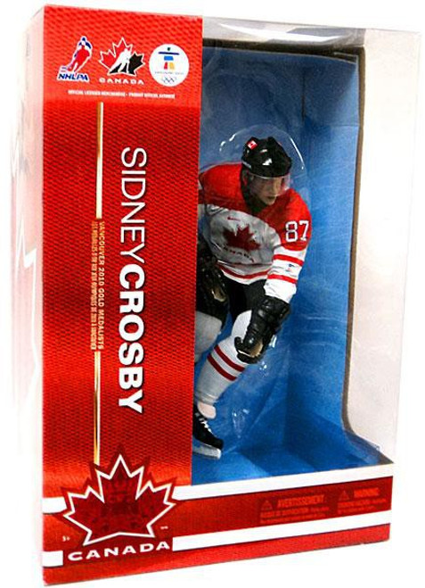 McFarlane Toys NHL Team Canada Sports Picks Deluxe Sidney Crosby Action Figure