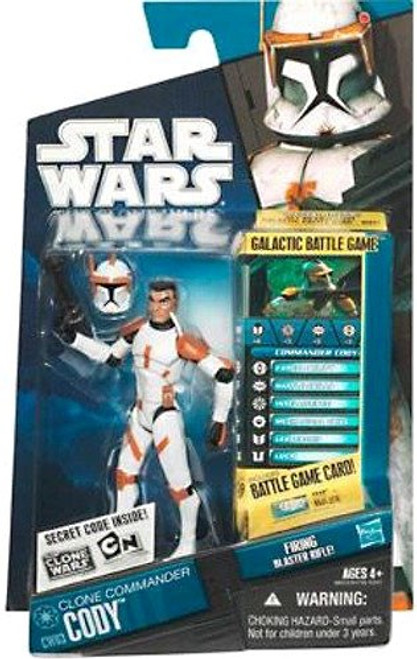 Star Wars The Clone Wars 2010 Commander Cody Action Figure CW03