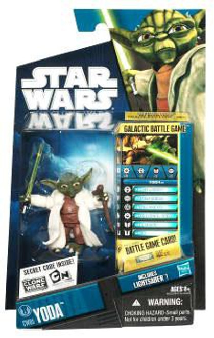 Star Wars The Clone Wars 2010 Yoda Action Figure CW05