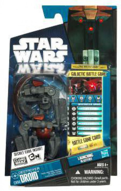 Star Wars The Clone Wars 2010 Destroyer Droid Action Figure CW04