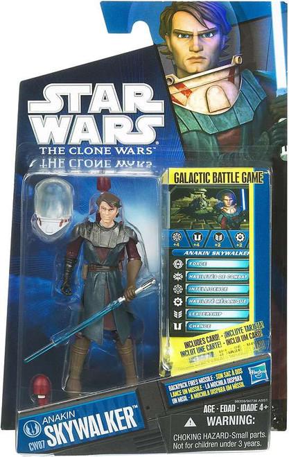 Star Wars The Clone Wars 2010 Anakin Skywalker Action Figure CW07 [Space Suit]