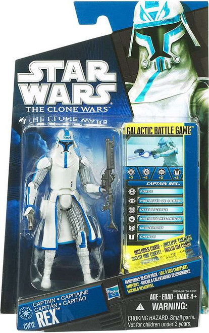Star Wars The Clone Wars 2010 Rex Action Figure CW12 [Cold Weather Gear]