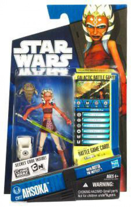 Star Wars The Clone Wars 2010 Ahsoka Tano Action Figure CW17 [With Rotta the Huttlet]