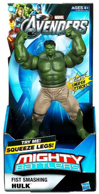 Marvel Avengers Mighty Battlers Fist Smashing Hulk Action Figure