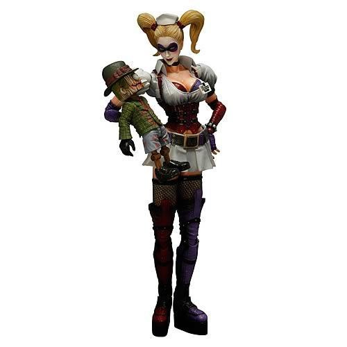 Batman Arkham Asylum Play Arts Kai Harley Quinn Action Figure