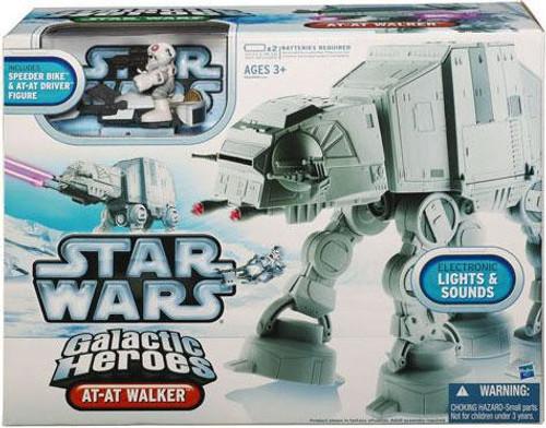 Star Wars The Empire Strikes Back Galactic Heroes 2010 AT-AT Walker Mini Vehicle 2-Pack