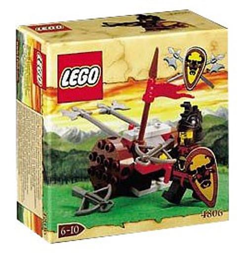 LEGO Knights Kingdom Axe Cart Set #4806
