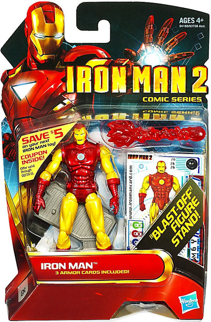 Iron Man 2 Comic Series Classic Iron Man Action Figure #28