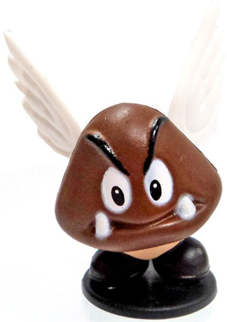 Super Mario Paragoomba 1-Inch PVC Figure [Loose]