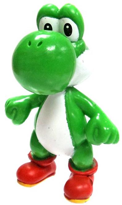 Super Mario Yoshi 2-Inch Mini Figure [Arms In, Loose]
