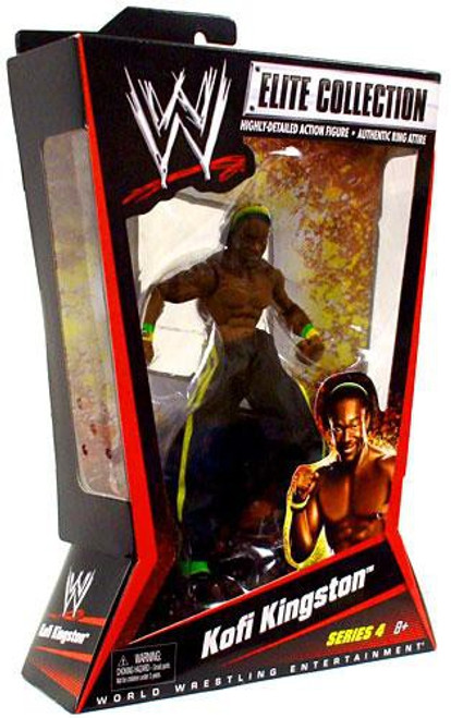 WWE Wrestling Elite Collection Series 4 Kofi Kingston Action Figure