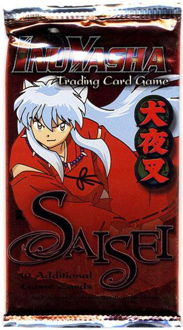 InuYasha Trading Card Game Saisei Booster Pack