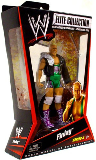 WWE Wrestling Elite Collection Series 4 Finlay Action Figure