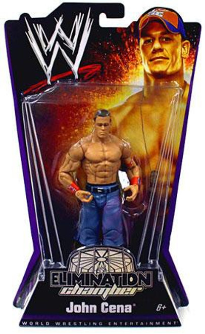 WWE Wrestling Elimination Chamber Series 1 John Cena Action Figure