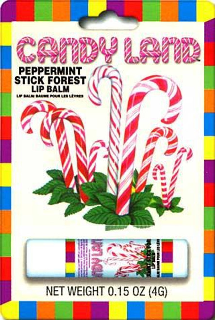 Candy Land Peppermint Stick Forest Lip Balm