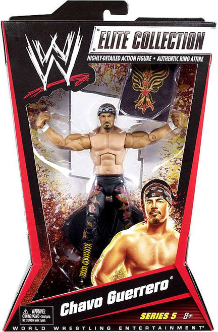 WWE Wrestling Elite Collection Series 5 Chavo Guerrero Action Figure