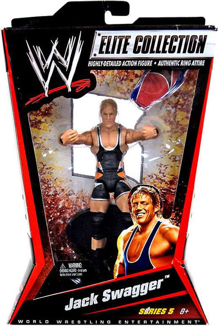 WWE Wrestling Elite Collection Series 5 Jack Swagger Action Figure