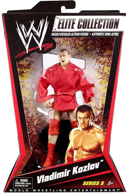 WWE Wrestling Elite Collection Series 5 Vladimir Kozlov Action Figure