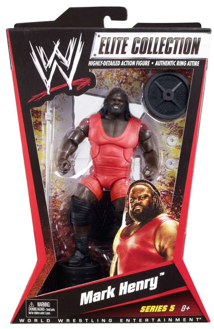 WWE Wrestling Elite Collection Series 5 Mark Henry Action Figure