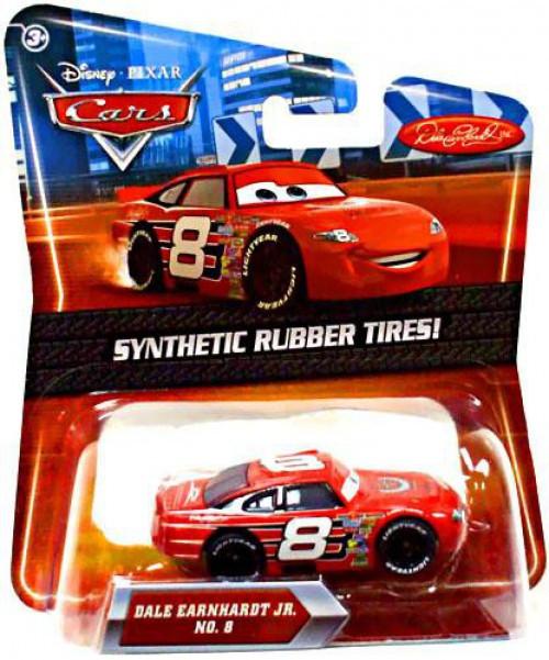 Disney / Pixar Cars Synthetic Rubber Tires Dale Earnhardt Jr. Exclusive Diecast Car