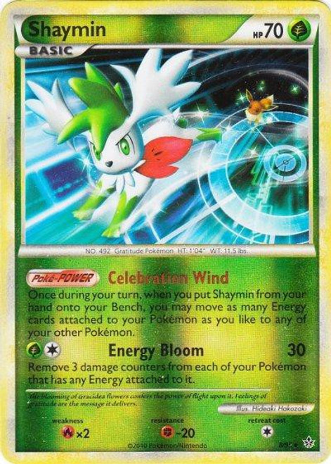 Pokemon HeartGold & Soulsilver Unleashed Rare Holo Shaymin #8
