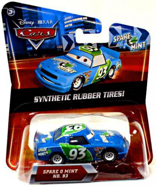 Disney / Pixar Cars Synthetic Rubber Tires Spare O Mint Exclusive Diecast Car
