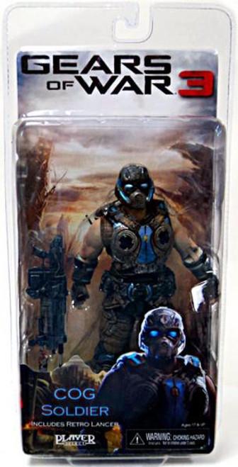 NECA Gears of War 3 Series 3 COG Soldier Action Figure
