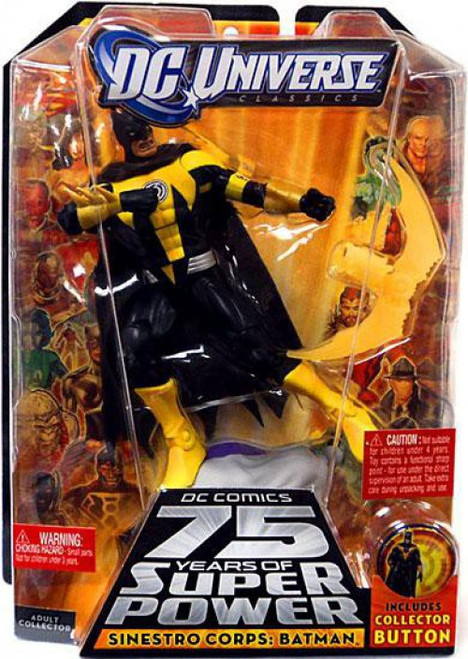 DC Universe 75 Years of Super Power Classics Validus Series Sinestro Corps Batman Action Figure