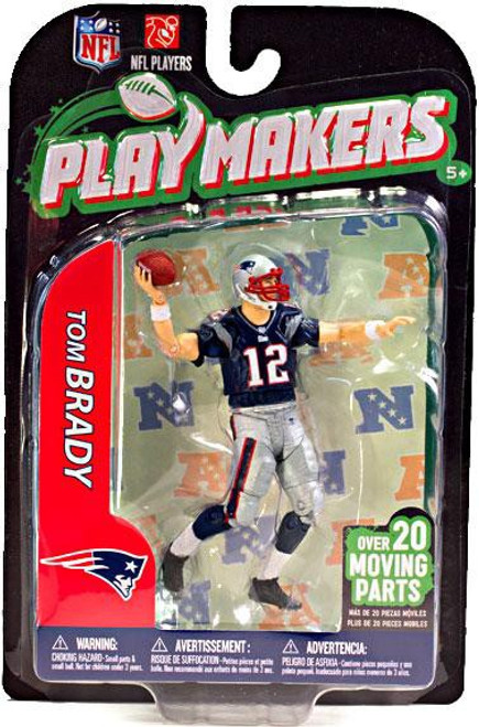 McFarlane Toys NFL New England Patriots Playmakers Series 3 Tom Brady Action Figure