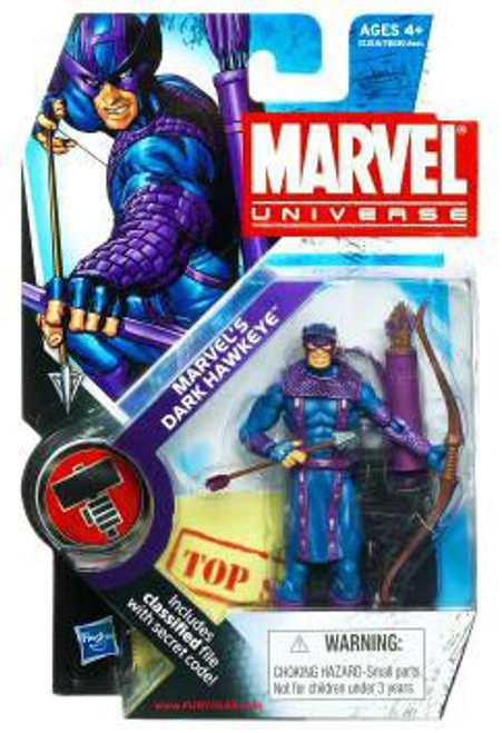 Marvel Universe Series 11 Marvel's Dark Hawkeye Action Figure #31 [Dark Avengers]