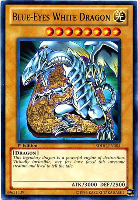 YuGiOh YuGiOh 5D's Structure Deck: Dragons Collide Common Blue-Eyes White Dragon SDDC-EN004