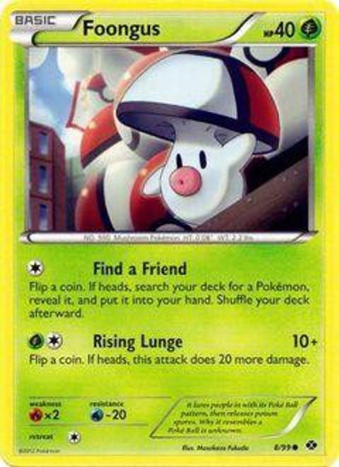 Pokemon Black & White Next Destinies Common Foongus #8
