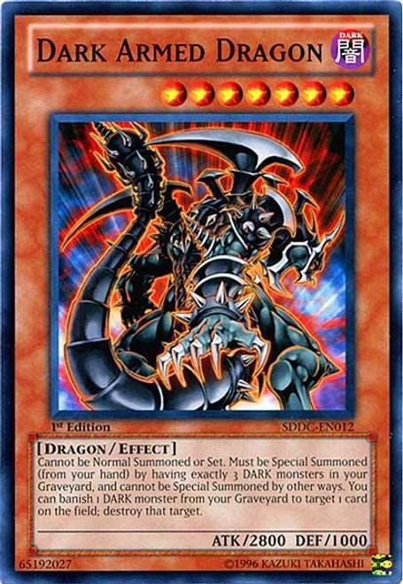 YuGiOh YuGiOh 5D's Structure Deck: Dragons Collide Common Dark Armed Dragon SDDC-EN012