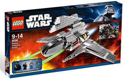 LEGO Star Wars Revenge of the Sith Emperor Palpatine's Shuttle Set #8096