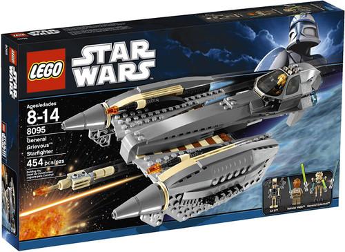 LEGO Star Wars The Clone Wars General Grievous Starfighter Set #8095