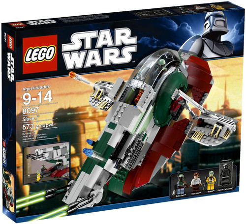 LEGO Star Wars The Empire Strikes Back Slave I Set #8097