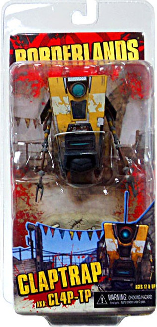 NECA Borderlands Claptrap Action Figure