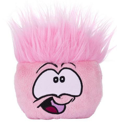 Disney Club Penguin Series 4 Pink Puffle Plush [Includes Coin with Code!]