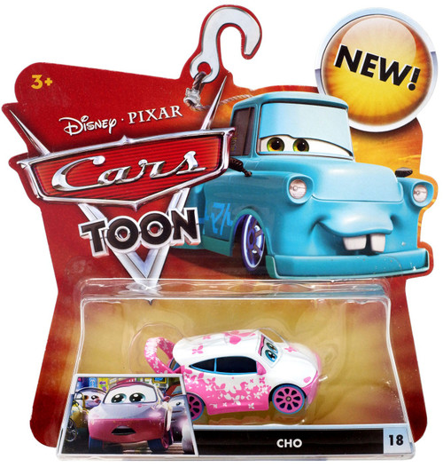 Disney / Pixar Cars Cars Toon Main Series Cho Diecast Car #18