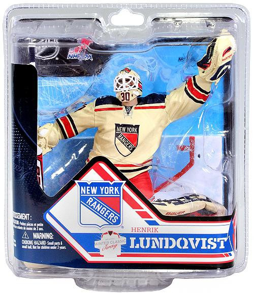 McFarlane Toys NHL New York Rangers Sports Picks Series 32 Henrik Lundqvist Action Figure [Off-White, Winter Classic Jersey]