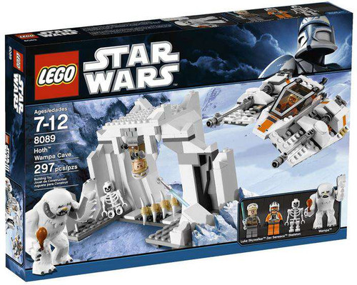 LEGO Star Wars The Empire Strikes Back Hoth Wampa Cave Set #8089