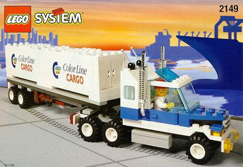LEGO System Color Line Container Set #2149