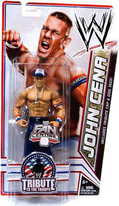 WWE Wrestling Tribute To The Troops John Cena Exclusive Action Figure