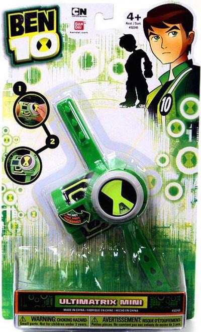 Ben 10 Ultimate Alien Ultimatrix Mini Roulette Wheel Roleplay Toy [Packaging Exhibits wear]