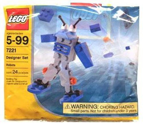 LEGO Robots Mini Set #7221 [Bagged]