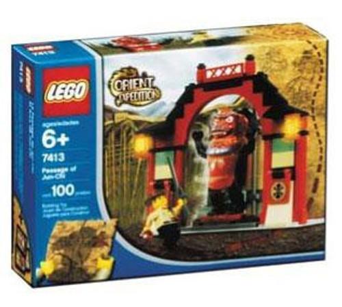 LEGO Orient Expedition Passage of Jun Chi Set #7413