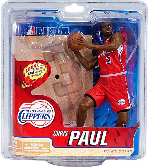 McFarlane Toys NBA Los Angeles Clippers Sports Picks Series 21 Chris Paul Action Figure [Red Jersey]